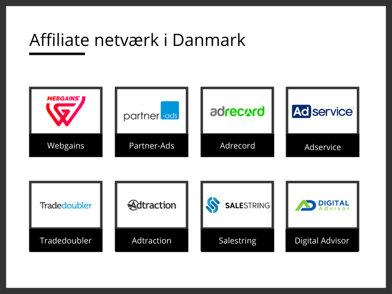 affiliate netværk